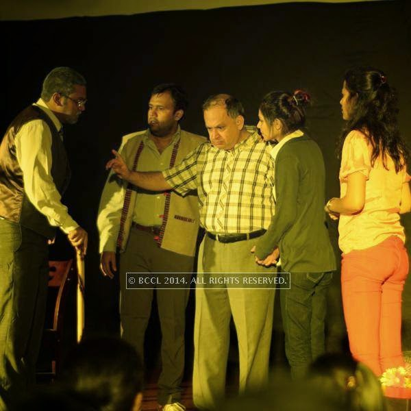 A scene from the play ''Uncle Vanya'', held at Chitnavis Centre, in Nagpur.