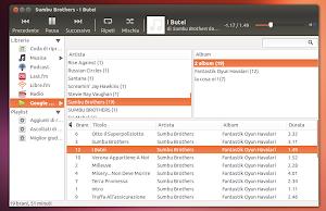 Rhythmbox in Ubuntu Linux