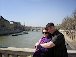 Susan and Jeff on the Seine