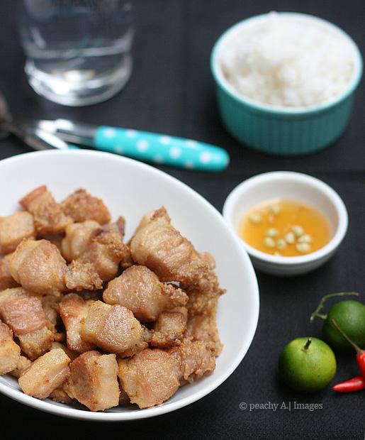 Crispy Pork Neck | www.thepeachkitchen.com