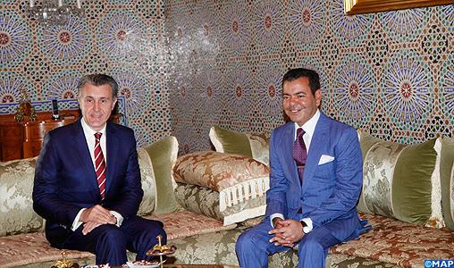 Principele Radu, primit de Principele Moulay Rachid al Marocului, la Rabat