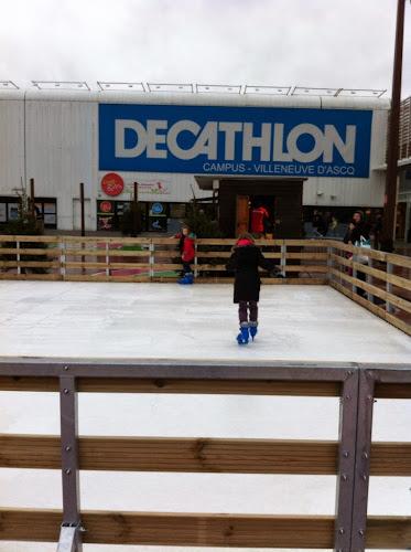 Patinoire décathlon