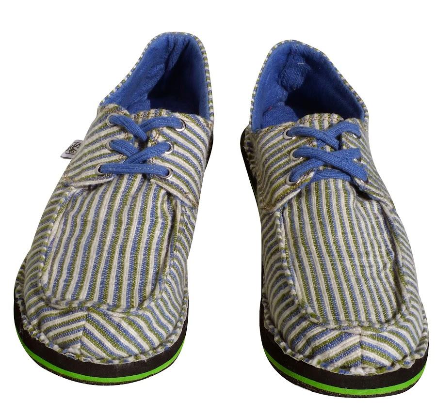 *soleRebels 清爽直條帆船鞋:非洲回收輪胎環保之美! 2