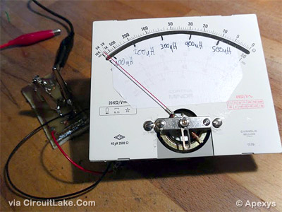 inductor meter using IC 555 project