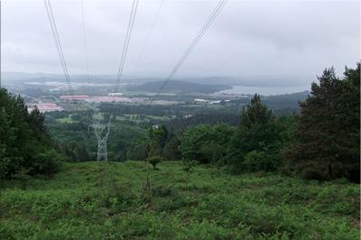 Vistas del Gojain y el Emb. de Urrunaga