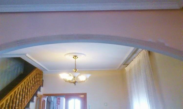 Decoraci n y molduras escayolista y pladurista fermin - Decoraciones para techos ...