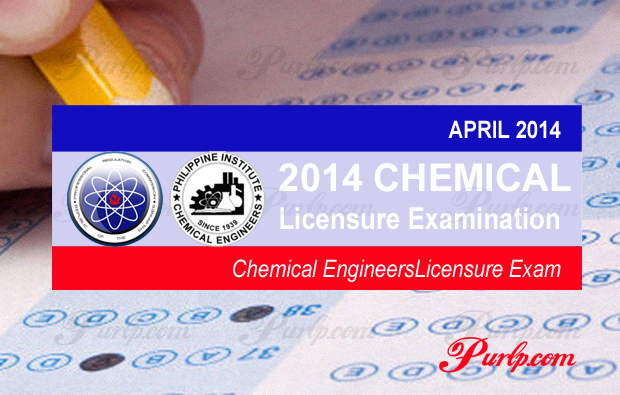 Chemical Engineering Exam Result APRIL 2014