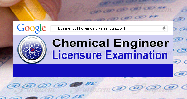 november 2014 chemical engineer exam results