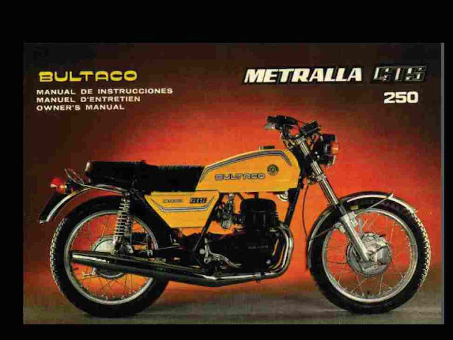 operations/maintenance manual, specification charts, wiring diagrams,  special tool list and much more  restore that bultaco