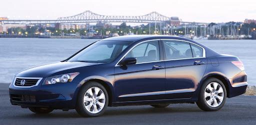honda accord sedan 2008. Honda Accord EX-L Sedan, 2008