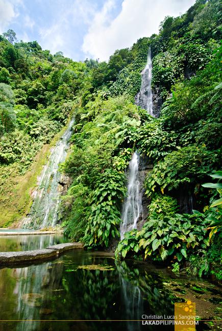 Botong Twin Falls at Bicol's BacMan Geothermal Plant