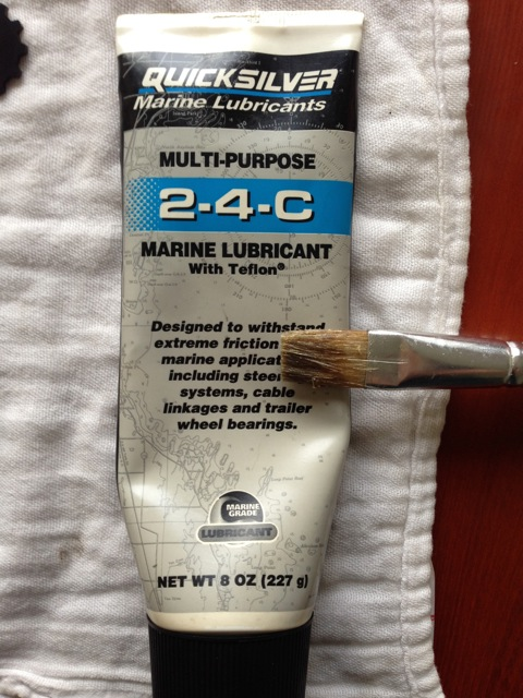 801ac0266da I'd like to say something here about marine grease. It is NOT the only lube  I use, and I don't use it for everything. I do not use this to lubricate my  ...