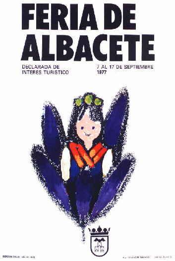 Cartel Feria Albacete 1977