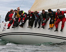 J/122 sailing in the United Kingdom