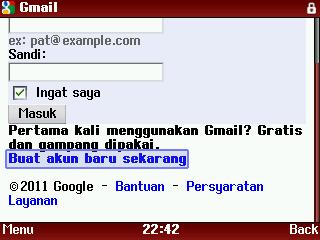 buat akun gmail 1 Cara Membuat Akun Youtube Melalui HP