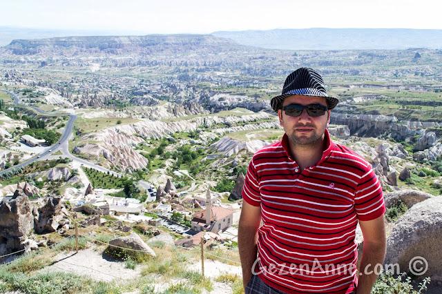 Kapadokya'da Uçhisar Kalesi'nden Göreme ve ötesi