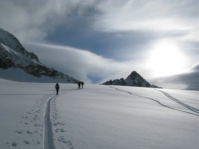 Aufstieg zur Königsspitze