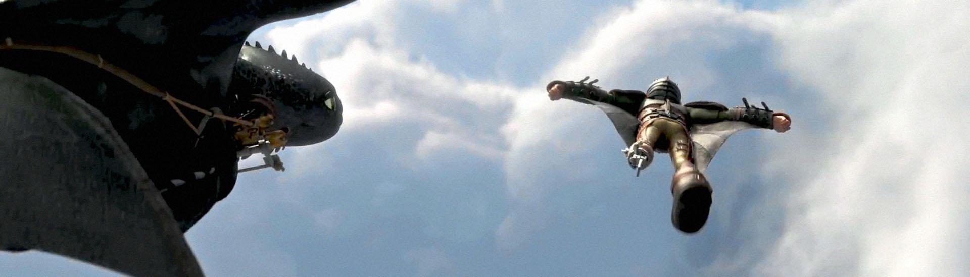 Baner filmu 'Jak Wytresować Smoka 2'