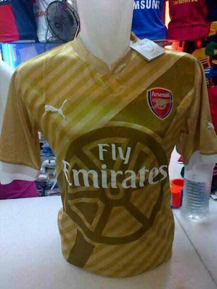 Jual Jersey Arsenal Puma Terbaru 2014 - 2015