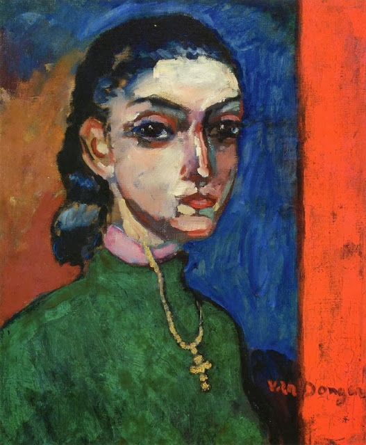 Kees Van Dongen - Woman with a Cross