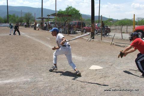 Juan Luis Rivera de Perrones en el softbol del Club Sertoma