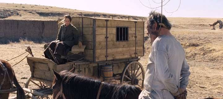 Screen Shot Of Hollywood Movie The Homesman (2014) Download And Watch Online Free at alldownloads4u.com