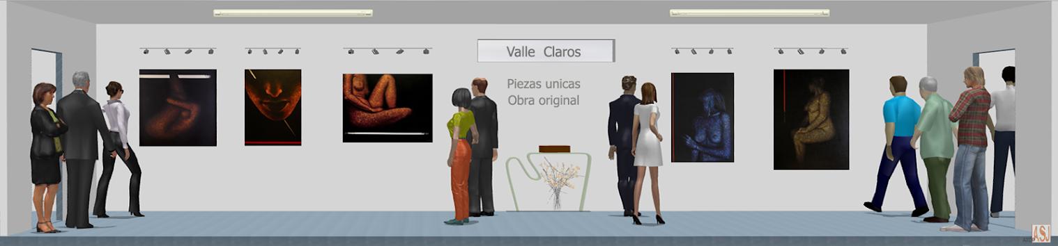 Sala de exposición virtual de pinturas de Valle Clarós Lloret