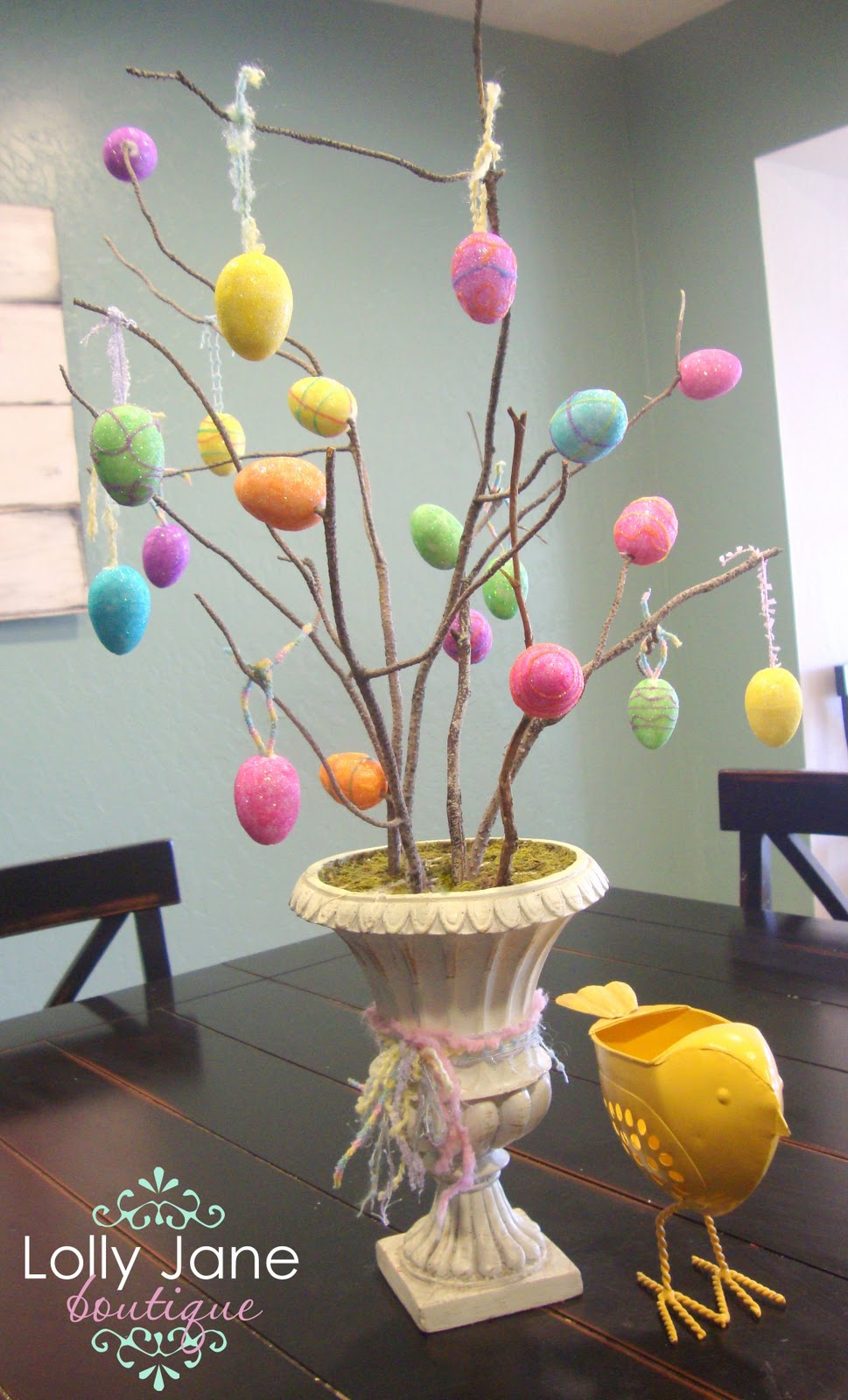 Easter Egg Tree Lolly Jane