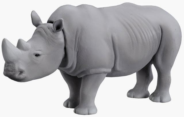 Chú Tê giác trắng Ania AS-07 White Rhino độc đáo