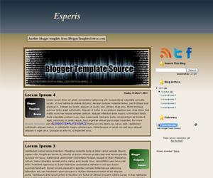 blogger template custom slideshow