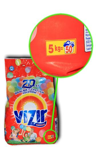 Стиральный порошок Vizir 5кг