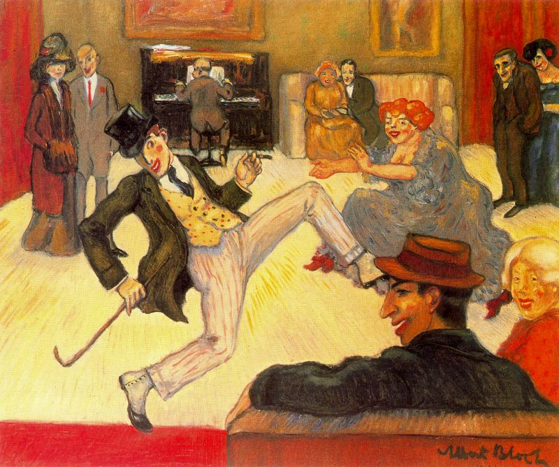 Albert Bloch - The Dancer (Ragtime)