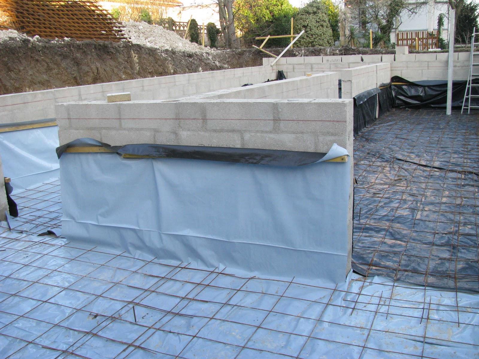 Je fais construire ma maison coulage de la dalle 2 7 for Construire ma maison