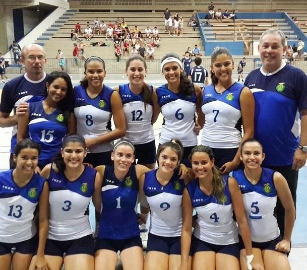 Voleibol da UFRN tem forte presença nos Jogos Universitários Brasileiros em Goiânia