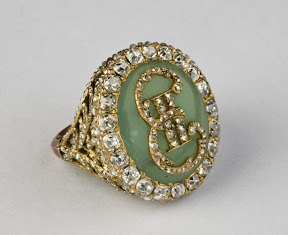 Ring of Catherine II monogram St. Petersburg, c. 1770.