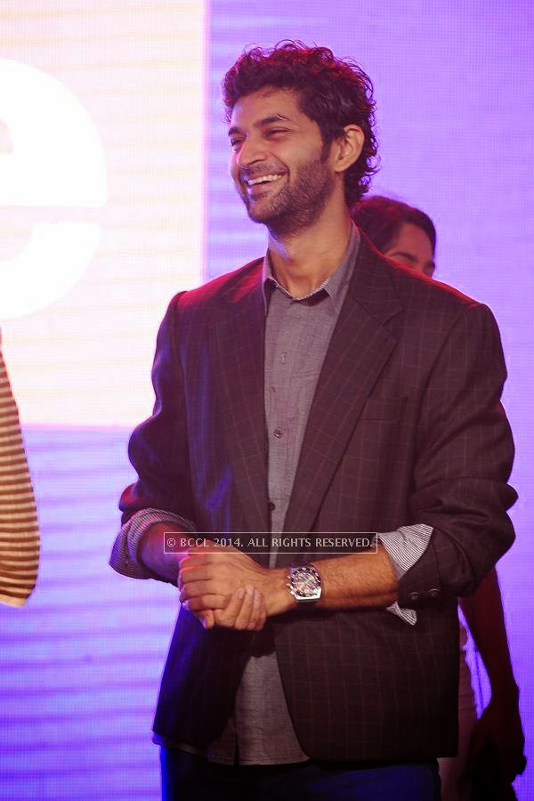 Purab Kohli during the launch of FOX Traveller's new television channel FOX Life, in Mumbai, on July 16, 2014.