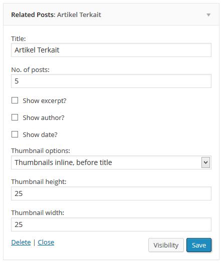 membuat artikel terkait di sidebar dengan contextual related post