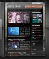Game Blog Wordpress Theme