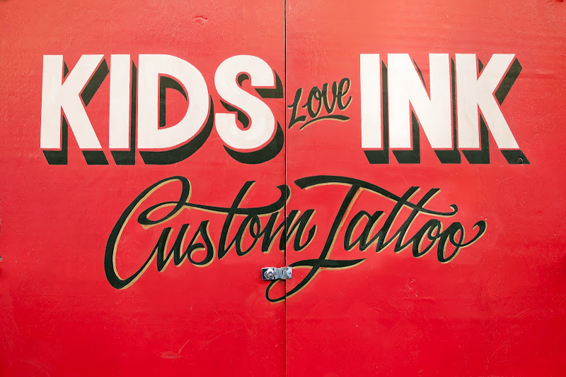 Kids Love Ink Custom Tattoo