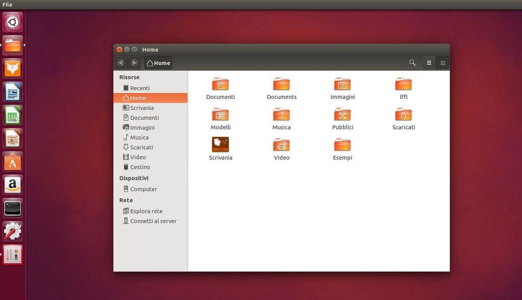 Kawaiki icone in Ubuntu
