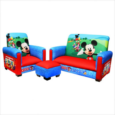 Disney Mickey Mouse Club House 3 Piece Juvenile Kids
