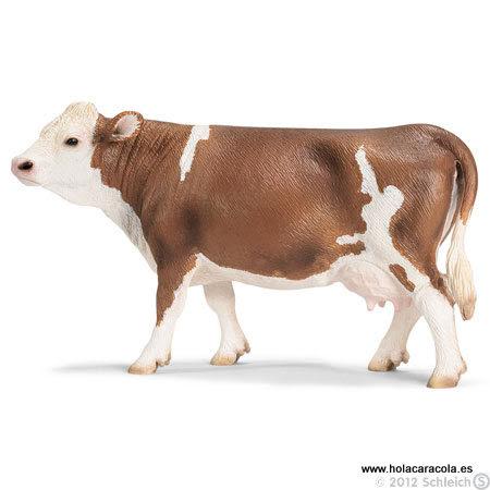 Schleich® 13641 Vaca de Raza Fleckvieh
