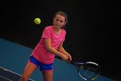 De finales van het jeugd tennistornooi bij TC Rumbeke op 22 februari 2015