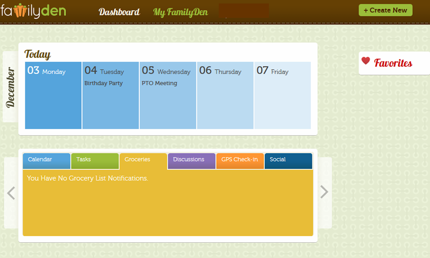 Organize your life & family with FamilyDen