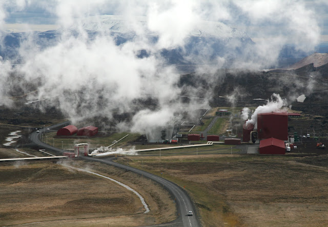Krafla geothermal powerstation