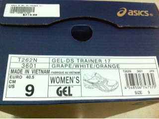 ascis gel-ds trainer 17
