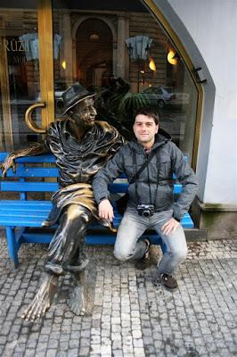 Haciendo amigos en Praga