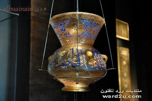 مجموعه الفن الاسلامى تصوير التشكيليه هدى البوعينين