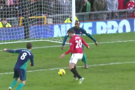 Robin van Persie, Manchester United - Sunderland