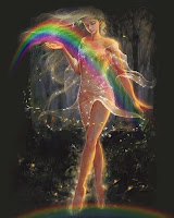Η Ίρις στην ελληνική μυθολογία ήταν δευτερεύουσα Θεά του Ολύμπου, ανήκε στην ακολουθία των Θεών με καθήκοντα αγγελιαφόρου όμοια με εκείνα του Θεού Ερμή.